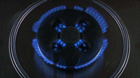 gas flame 12 Stock Video Footage