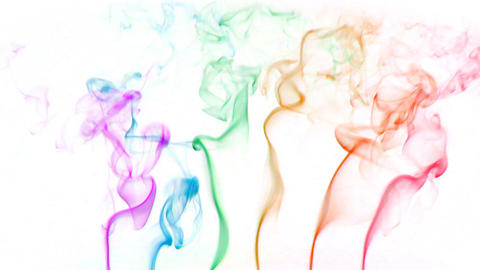 color smoke 01 Stock Video Footage