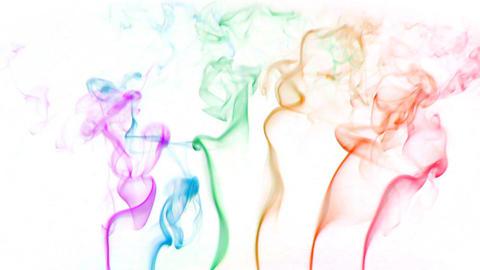 color smoke 01 Stock Video Footage