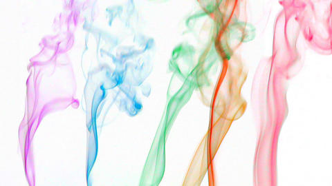 color smoke 03 Stock Video Footage