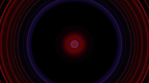 vj loop circle 04 Stock Video Footage