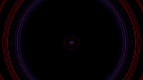 vj loop circle 04 Stock Video Footage