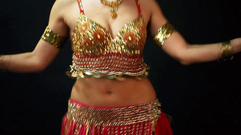 Belly dancer Stock Video Footage