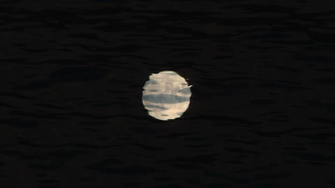moon reflection Footage