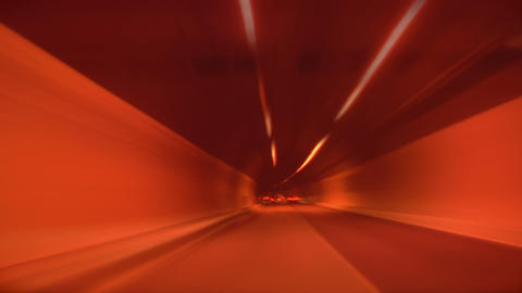 tunnel abstract speed 02 Stock Video Footage