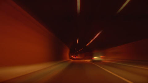 tunnel abstract speed 02 Footage
