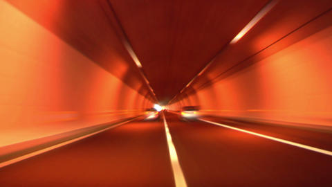 tunnel abstract speed 04 Stock Video Footage
