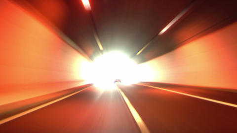 tunnel abstract speed 04 Footage