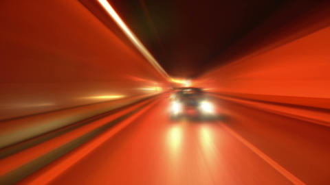 tunnel abstract speed 06 Stock Video Footage