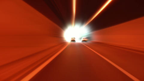 tunnel abstract speed 08 Stock Video Footage