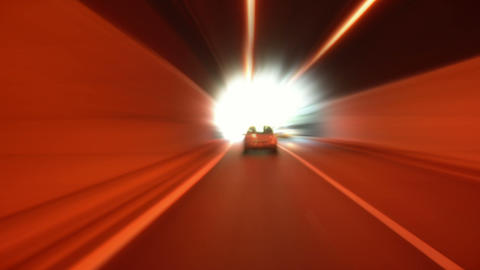 tunnel abstract speed 10 Stock Video Footage