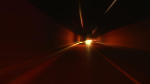 tunnel abstract speed 10 Footage