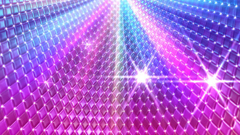 Disco Wall CMbC1 HD Stock Video Footage