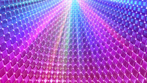 Disco Wall CMbC3 HD Stock Video Footage