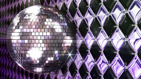 Disco Wall FNmM1 HD Stock Video Footage
