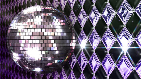 Disco Wall FNmM1 HD Stock Video Footage