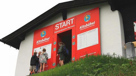 In The Alps 13 Hahnenkamm Start 2in1 Footage