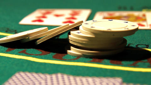 Poker 22 raise Stock Video Footage