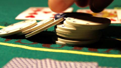Poker 22 raise Stock Video Footage