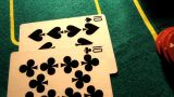 Poker 30 Dolly Right stock footage