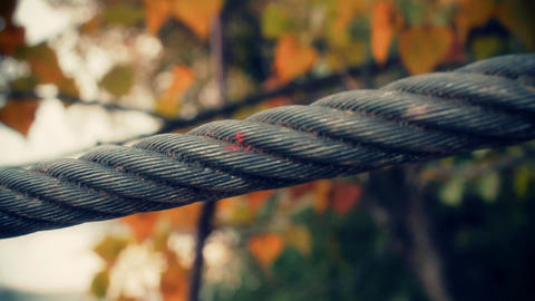 Steel Rope ARTCOLORED Stock Video Footage