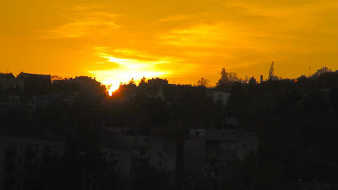 Sunset 01 Footage