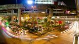 Bangkok Traffic 2 Time Lapse stock footage