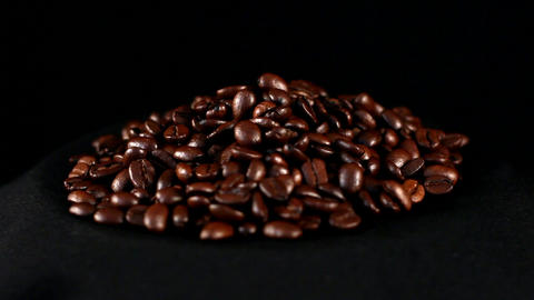 Loop coffee beans Footage