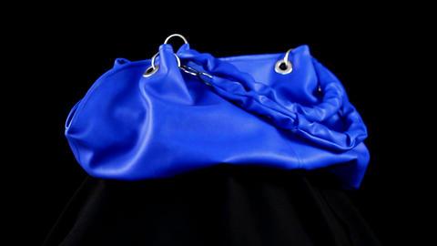loop blue bag Stock Video Footage