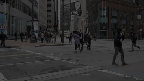 San Francisco time Lapse 4 Stock Video Footage