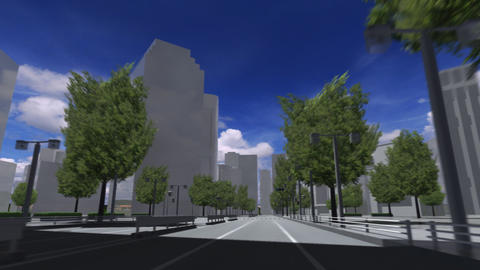 City 5A2 HD Animation