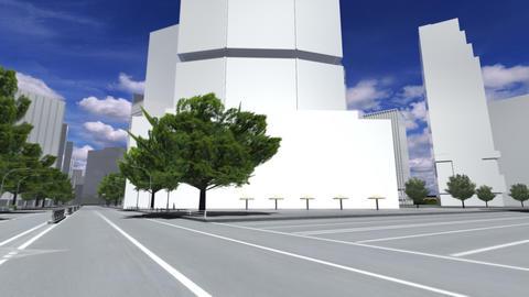 City 5E1 HD Stock Video Footage