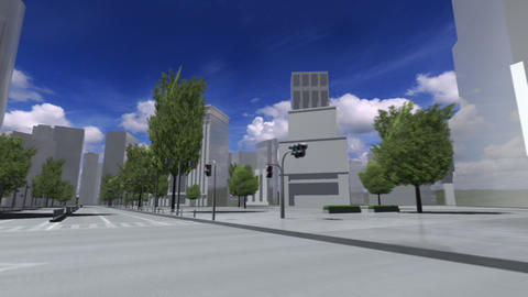 City 5E2 HD Stock Video Footage