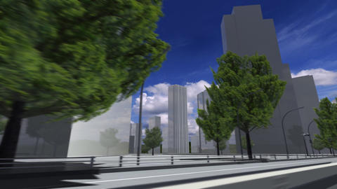 City 5i1 HD Stock Video Footage