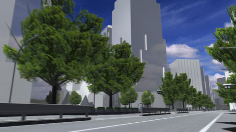 City 5J1 HD Animation