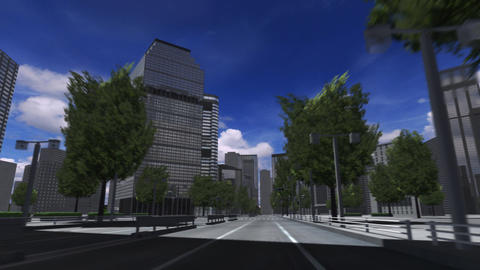 City 4A2 HD Stock Video Footage