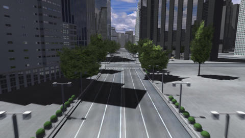 City 4BB HD Stock Video Footage