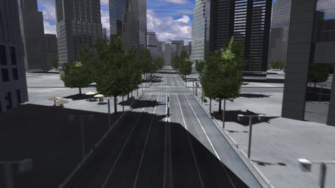 City 4BB HD Animation