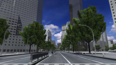 City 4C HD Stock Video Footage