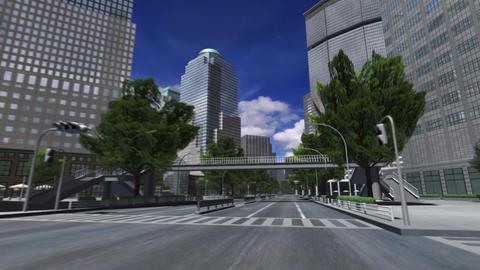 City 4E1 HD Stock Video Footage