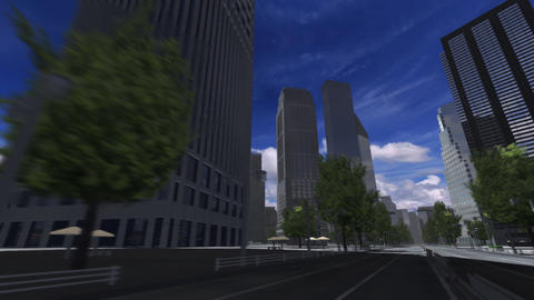 City 4F HD Animation