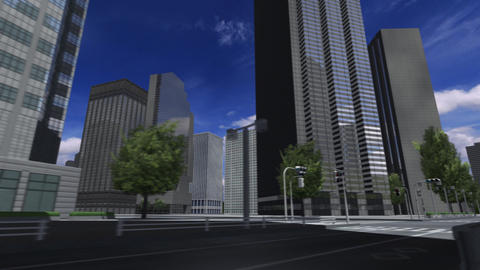 City 4i2 HD Stock Video Footage