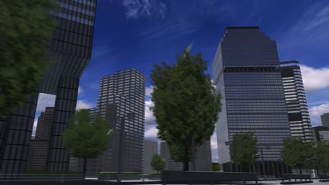 City 4J2 HD Animation