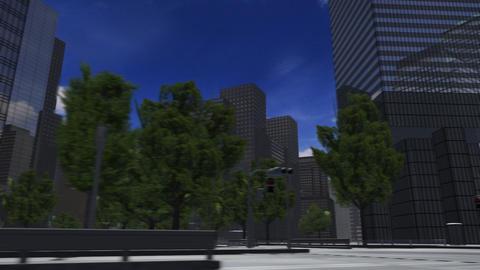 City 4J2 HD Stock Video Footage