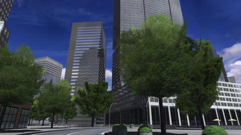 City 4L HD Stock Video Footage