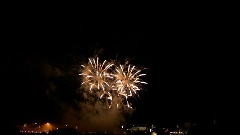 Fireworks show i1d Footage