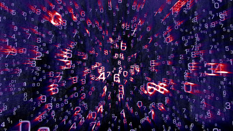 3D Mathematics 06 Stock Video Footage