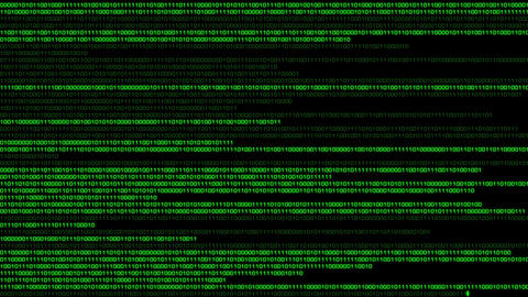 Binary World v2 02 Stock Video Footage