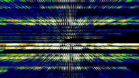 Binary World v3 05 Stock Video Footage