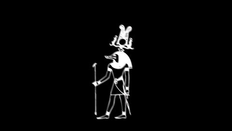 Egyptian Deities 02 Animation
